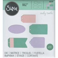 Fustella Bigz 662578 Tags