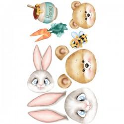 Fommy Decò Teddy e Bunny