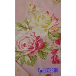 Tessuto con rose - Rose109