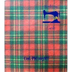 Pannolenci Scottish rosso e...