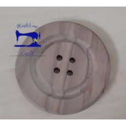 Bottone in legno da 09 cm