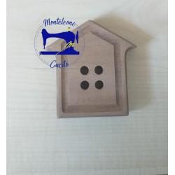 Bottone  Casetta in legno...