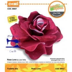 Fustella Bigz 99607 Rosa Love