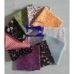 Fat quarter Pacchetto Noir Two