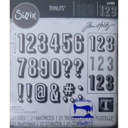 Fustelle Thinlits 664808...