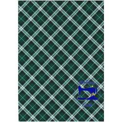Tessuto scozzese verde