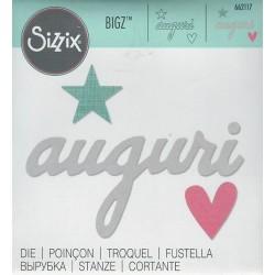 Fustella Bigz 662117 Auguri